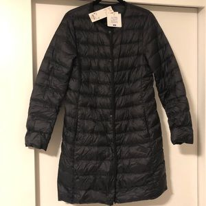 Uniqlo Ultra light down compact coat—new with tags